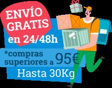 Envío gratis a partir de 95€